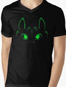 Neon Toothless  Mens V-Neck T-Shirt