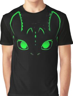 Neon Toothless  Graphic T-Shirt