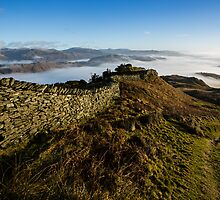 Great Langdale Valley - Cumbria by David Lewins