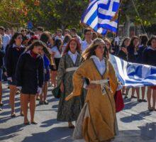 The Feast day of Saint Demetrius of Thessalonikiis    Island of Kos Sticker