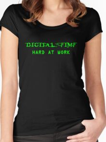 Digital Pimp Women's Fitted Scoop T-Shirt