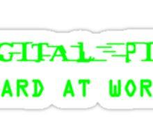 Digital Pimp Sticker