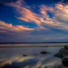 St.Georges Basin Sunset by Les Boucher