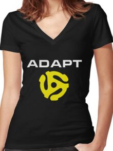 Adapt Women's Fitted V-Neck T-Shirt