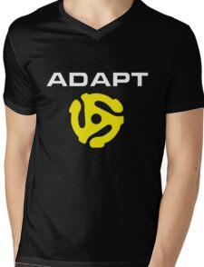 Adapt Mens V-Neck T-Shirt