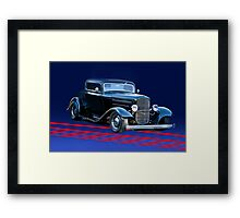 1932 Ford 2-Window Coupe Framed Print