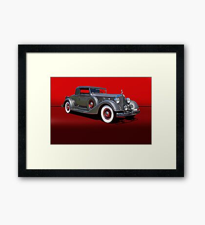 1934 Packard 1101 Eight Coupe w/o ID Framed Print