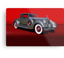 1934 Packard 1101 Eight Coupe w/o ID Metal Print
