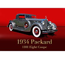 1934 Packard 1101 Eight Coupe w/ID Photographic Print