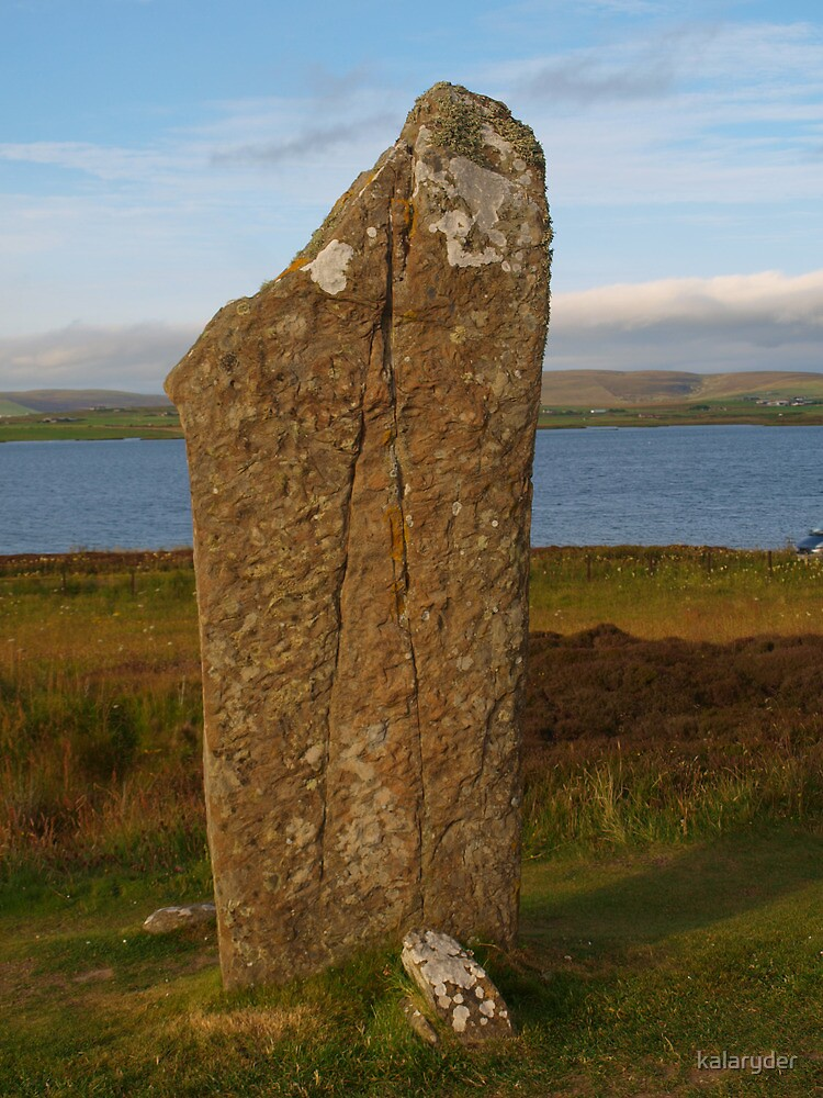 Single Stone of Brodgar by kalaryder