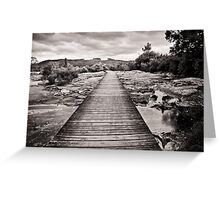 Thermal Boardwalk, Rotorua Greeting Card