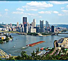 "My Home Town! ""The Burgh"" Pittsburgh PA. by BLAKSTEEL"