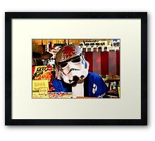 Japan Reloaded - Storm Chef Framed Print