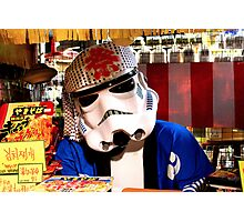 Japan Reloaded - Storm Chef Photographic Print
