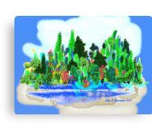 ACEO Landscape Fantasy Forest 1 Canvas Print