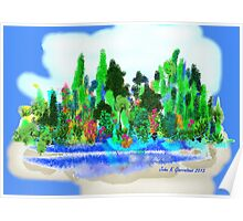 ACEO Landscape Fantasy Forest 1 Poster