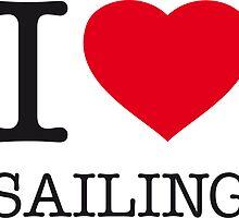 I ♥ SAILING by eyesblau