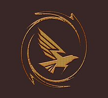 Eagle in Tribal by fuxart