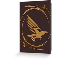 Eagle in Tribal Greeting Card