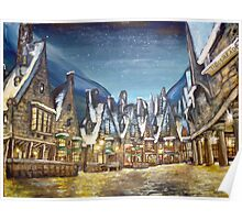 Wintry Hogsmeade :) Poster