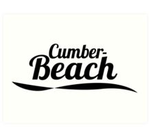 Cumber Beach Art Print