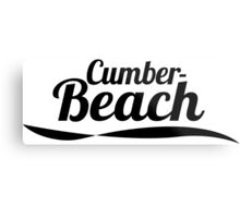 Cumber Beach Metal Print