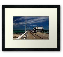 Busselton Wharf - Western Australia Framed Print