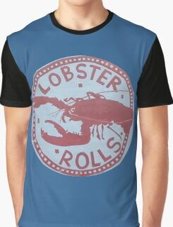 More Lobster Rolls - Martha's Vineyard Graphic T-Shirt