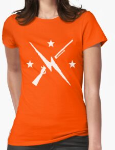 the minutemen  Womens Fitted T-Shirt