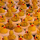 Lots Of Yellow Rubber Ducks With Sunglasses by SmilinEyes
