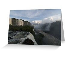 Cataratas do Iguaçu Greeting Card