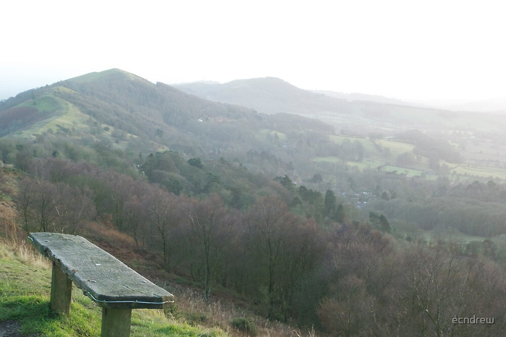 Malvern Hills from the Beacon by ecndrew