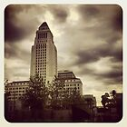 L A City Hall by sixmonkeys