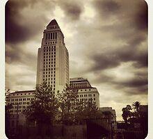 L A City Hall by sixmonkeys