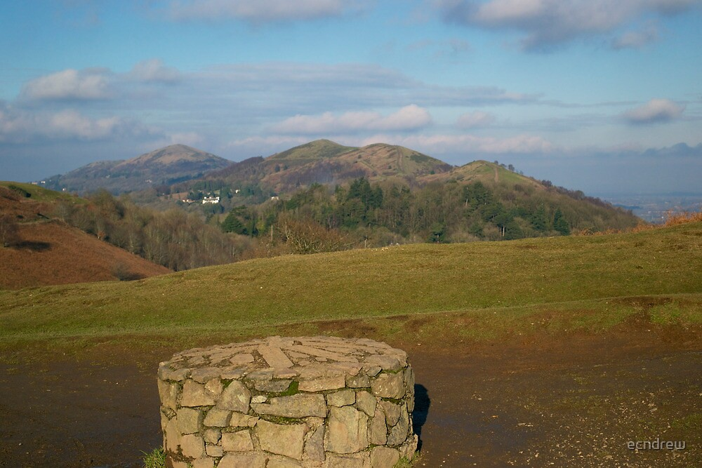 Malvern Hills from British Camp by ecndrew