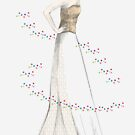 Wedding dress illustration by maddym