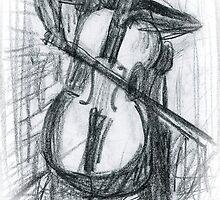 Cellist by sixmonkeys