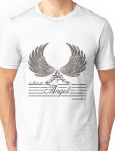 Is there an angel somewhere t-shirts design by Kanjiz & appsreka Unisex T-Shirt