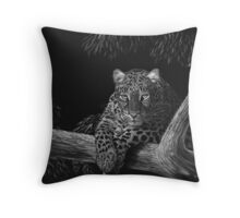 Spotted - leopard Throw Pillow