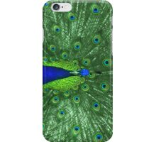 Lime Peacock iPhone Case/Skin