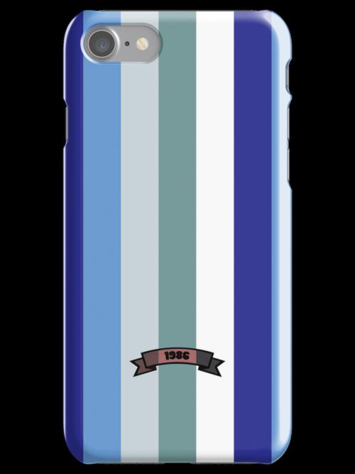 Cool Color Stripe Pattern by thejoyker1986