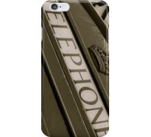 British black and white Phone box iPhone Case/Skin