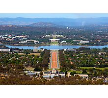 Canberra Photographic Print
