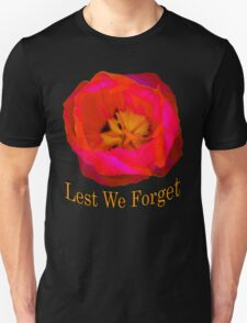 Lest We Forget, Poppy T-Shirt