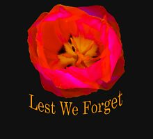 Lest We Forget, Poppy Womens Fitted T-Shirt