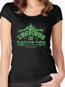 Deathclaw Valley Survivor Women's Fitted Scoop T-Shirt