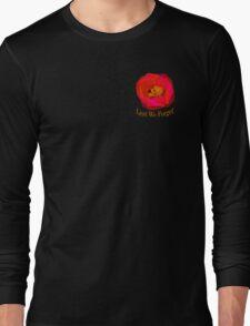 """Lest We Forget - """"Pocket"""" Badge Long Sleeve T-Shirt"""