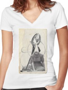 Spoon me Women's Fitted V-Neck T-Shirt