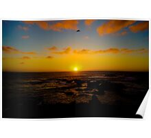 Pacific Sunset Poster