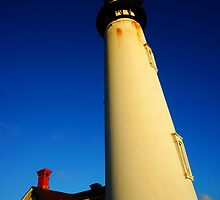 Pigeon Point Lighthouse by AmishElectricCo